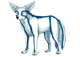 CM - Twotailed wolfennec by Do-El
