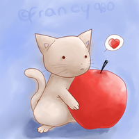 I love apples by francy980