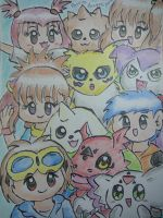 The Tamers by dengekipororo