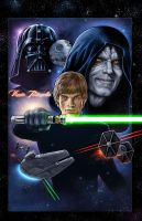Stars Wars Return of the Jedi by VinRoc
