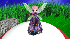 MMD Daily Challenge Day 2 Your favourite model by Eripmav-darkness