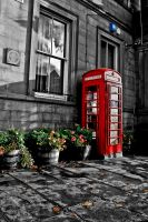 Little Red Phone Box by Tafkag