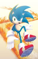 Sonic - The Fastest Thing Alive by marcotte