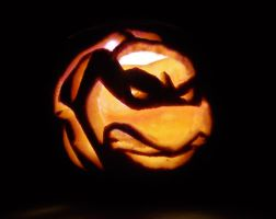 TMNT Pumpkin by mikedaws