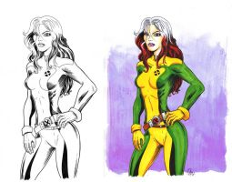 Rogue inks and colors by rodstella