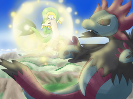 Pokemon Mystery Dungeon Gates to Infinity-Farewell by ElderFlower-spark