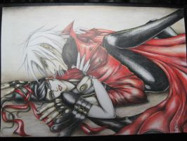 dante x bayonetta....game over by a-l-u-k-a-r-d