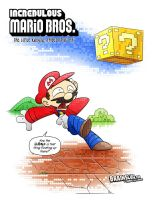 The lost Mario Bros. spinoff. by BrainslugComics
