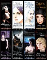 Mercury: Character Bookmarks 1 by missmarypotter
