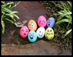 Eggs-actly by GreenEyezz
