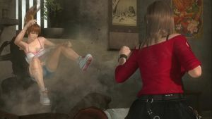 House Fight: Hitomi vs Kasumi 6 by SwarmlordTrainee