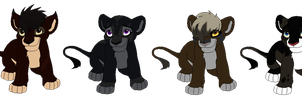 TLK Adoptables 1 ::CLOSED:: by Tawny-Lions