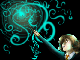 Patronus by little-space-ace