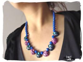 Enchanted Seashell Necklace by Cateaclysmic