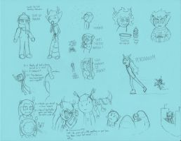 Homestuck 12th Perigees Doodles 1 by Warcry31