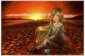 Dry heart by Ayuyowsky
