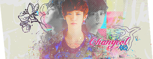 chanyeol signature by Partusan