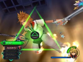 roxas vs axel epic battle by sonicfreack