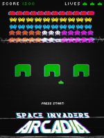 -Arcadia - Space Invader- by greenpuddle