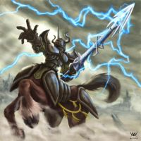 Thunder Spear by Maxa-art