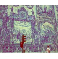 Azulejos Wall of Art by MEEMO-88