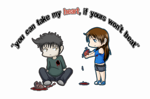 You can take my heart, if yours won't beat by Abby-desu