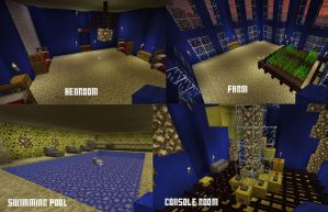 Minecraft TARDIS Interior by thenextdoctor42