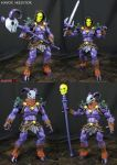 Lord Havoc Skeletor Masters of the Universe figure by Jin-Saotome