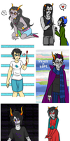 Homestuck Art Dump by oofuchibioo