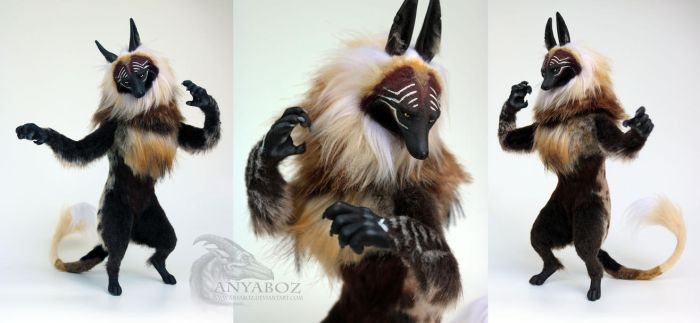 Undertaker Morgul Wolf Room Guardian by AnyaBoz