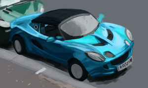 Daily Study #4: Lotus Elise by Brainmatters