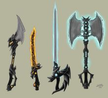 element weapons by misledtomisery