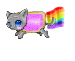 Nyan Cat by Koala-Sam