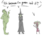 Green by Kittykatpaws