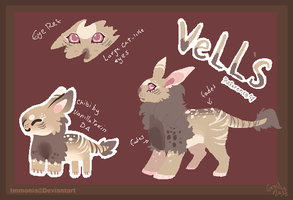 Vell's Reference Sheet by Immonia