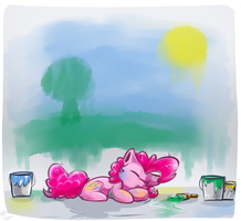 [Request] Sleepy artist by SupLoLNope
