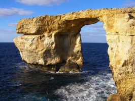 Azure Window, Christmas 2009 by thielfer