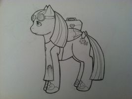 Old style ish pony by Wintaria