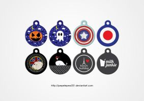 2012 dog tag by pepelepew251