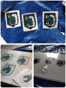 AoT military police patches (small) finished by FMAfreakoid