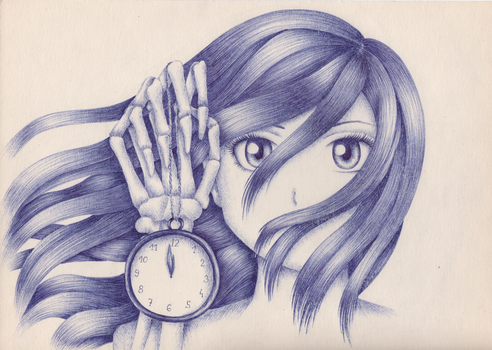 Running out of time by Langustka