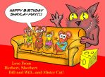 A Birthday pic for my daughter. by DannoGerbil