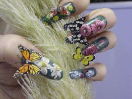 butterflys touch my hand sign by Mrsitachi21