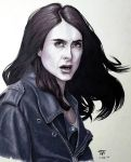 Jessica Jones - Grayscale Markers by TrinityMathews