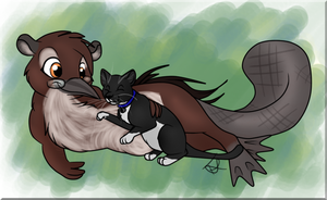Buri and Lewis by thetelltaleheart