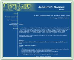 Jagruti Gandhi's Website by Amita-Gandhi