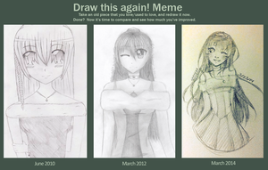 Before and After Meme (Four Years) by naoyi