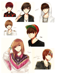 ART DUMPS 1: KPOP by na-Miey