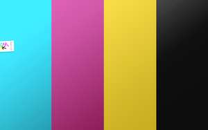 CMYK wall by m4t7