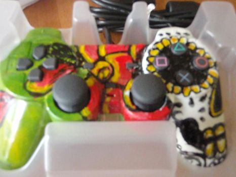 sugar skull left by MissCreepers